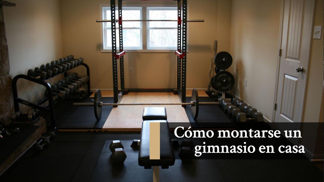 C mo montarte tu propio gimnasio en casa - Gimnasios en casa ...