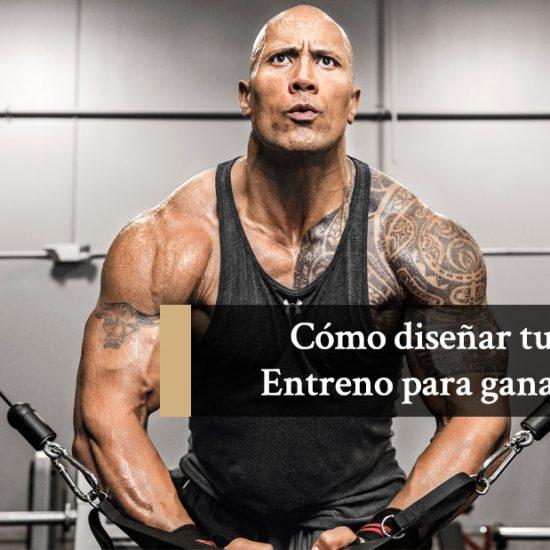 Cómo diseñar tu rutina de entrenamiento para ganar músculo