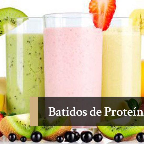 Batidos de proteína caseros