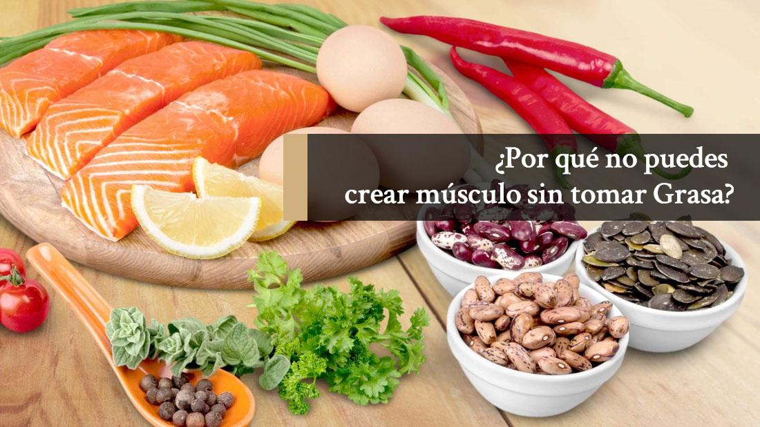 Dieta para ganar masa muscular: ¿por qué no puedes crear músculo sin ingerir grasa?