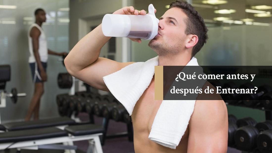 ¿Qué comer antes y después de Entrenar para Ganar Músculo y Perder Grasa?