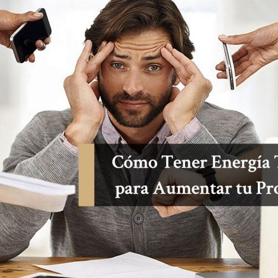 Como Tener Energía Todo el Día para Aumentar tu Productividad