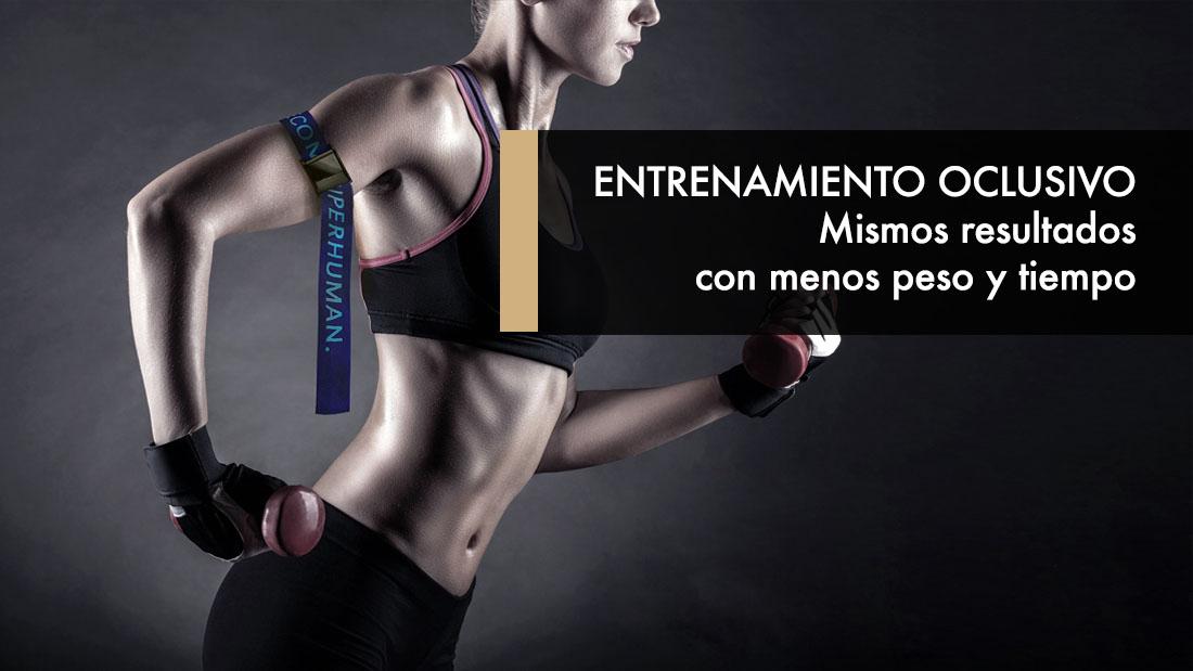 Entrenamiento Oclusivo: Mismos resultados con menos peso y tiempo