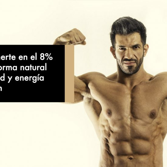 Cómo Mantenerte en el 8% de grasa de forma natural sin que tu salud y energía se perjudiquen